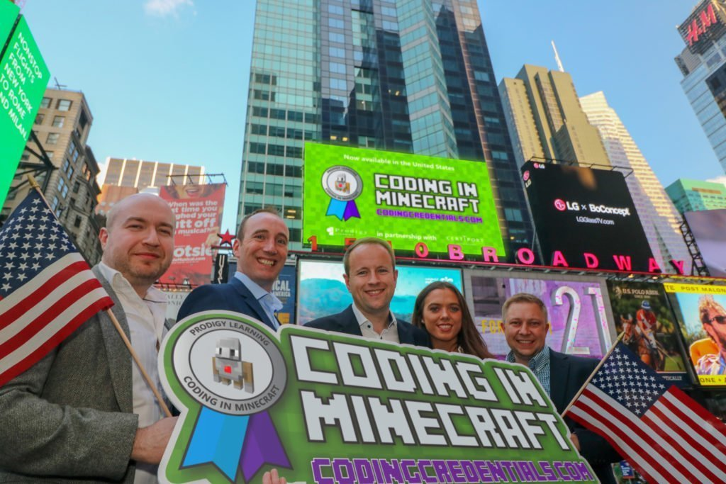 Coding in Minecraft Launch