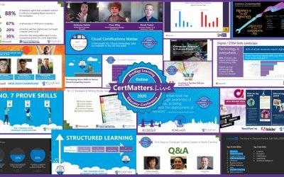 CertMatters.Live Online 2020 … BIGGER than ever!