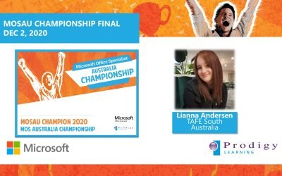 Microsoft Crowns the MOS Australian Champion 2020