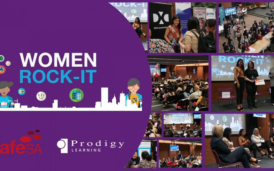 Women Rock-IT Event – Empowering 130 Women to Pursue Careers in IT