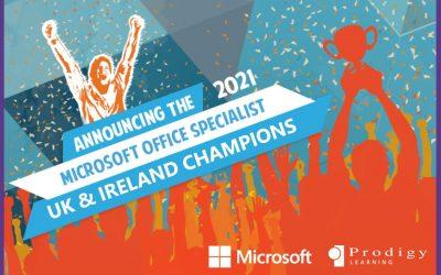Microsoft Crowns the 2021 Microsoft Office Specialist (MOS) UK & Ireland Champions